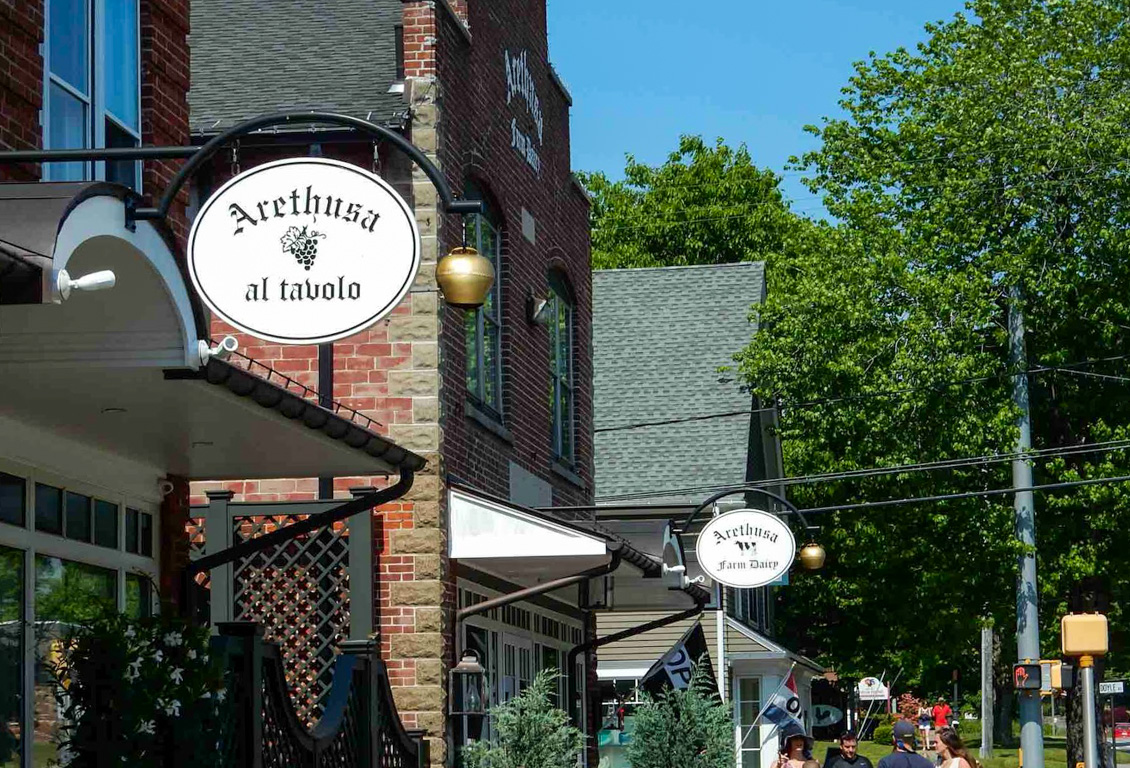 Arethusa al Tavalo restaurant in Litchfield, CT