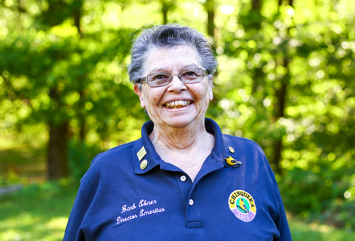 Barb Ebner, Director Emeritus of Camp Chinqueka